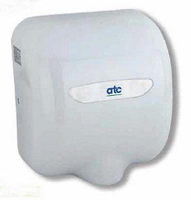 ATC Z-2281W CHEETAH 1475W White Enamel Automatic Hand Dryer