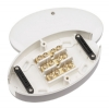 Click WA220 60amp 3 Terminal White Junction Box