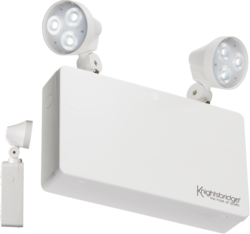 ML Knightsbridge EMTWINPC Twin 3 Watt LED Emergency Spot Light