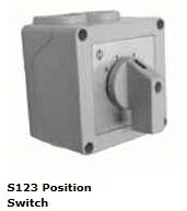 ATC S123 3 Position Heating Control Switch for 3 Phase Heaters