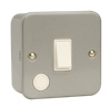 Click CL022 20 Amp 1 Gang DP Surface Metal Clad Switch
