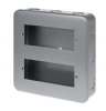 Click CL512 12 Gang 2 Tier Minigrid Plate and Surface Box
