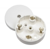 Click WA074 20 Amp 4 Terminal 58mm Round Junction Box