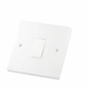 Economy 10 Amp PVC Switch Plates