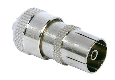 Female Coax Plug ( Socket )