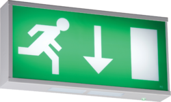 ML Knightsbridge EMRUN 6 Watt LED Emergency Exit Sign