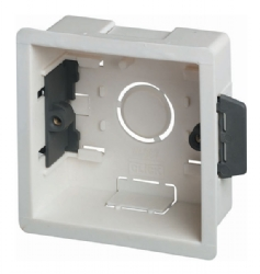 Single Fast Fix Cavity Wall Accessory Box
