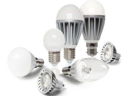 Mixed LED Light Bulbs